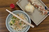 Exceptional tempura and udon at Chikusei in Takamatsu.
