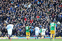 Preston North End fans enjoy the second half action<br /> <br /> Photographer Rich Linley/CameraSport<br /> <br /> The EFL Sky Bet Championship - Blackburn Rovers v Preston North End - Saturday 9th March 2019 - Ewood Park - Blackburn<br /> <br /> World Copyright © 2019 CameraSport. All rights reserved. 43 Linden Ave. Countesthorpe. Leicester. England. LE8 5PG - Tel: +44 (0) 116 277 4147 - admin@camerasport.com - www.camerasport.com