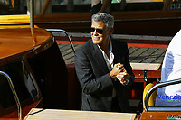VENICE, ITALY - September 1st: George Clooney arrives at Darsena Excelsior during 74th Venice Film Festival at Excelsior Hotel on September 1st, 2017 in Venice, Italy. (Mark Cape/insidefoto)