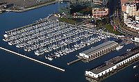 aerial photograph South Beach Marina San Francisco, California