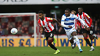 Rico Henry of Brentford races upfield during Brentford vs Queens Park Rangers, Sky Bet EFL Championship Football at Griffin Park on 11th January 2020