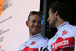 Alexander Kristoff (NOR) Team Katusha Alpecin on stage at the Team Presentation in Burgplatz Dusseldorf before the 104th edition of the Tour de France 2017, Dusseldorf, Germany. 29th June 2017.<br /> Picture: Eoin Clarke | Cyclefile<br /> <br /> <br /> All photos usage must carry mandatory copyright credit (&copy; Cyclefile | Eoin Clarke)