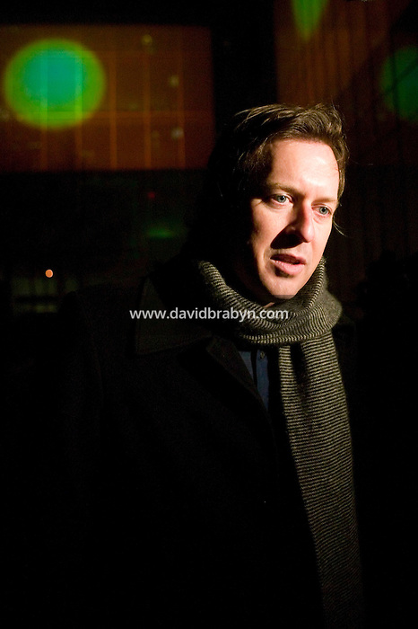 16 January 2007 - New York City, NY - Artist Doug Aitken attends the opening of his month-long show Sleepwalkers at the museum of Modern Art in New York City, USA, 16 January 2007. The artwork consists of eight large-scale moving images projected onto the exterior of MoMA.
