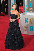 London, UK. 14 February 2016. Laura Bailey. Red carpet arrivals for the 69th EE British Academy Film Awards, BAFTAs, at the Royal Opera House. © Vibrant Pictures/Alamy Live News