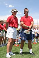 April Heinrichs, USA v Mexico, 2004.