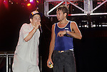 "BEASTIE BOYS - Adam""Ad-Rock"" Horovitz, Adam ""MCA"" Yauch - performing live at Greek Theatre in Los Angeles, Ca June 22, 1987"
