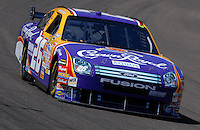 Apr 19, 2007; Avondale, AZ, USA; Nascar Nextel Cup Series driver Jamie McMurray (26) during practice for the Subway Fresh Fit 500 at Phoenix International Raceway. Mandatory Credit: Mark J. Rebilas