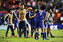 Japan team group (JPN),JULY 3, 2011 - Football :Japan players including Naomichi Ueda #4 console each other after the 2011 FIFA U-17 World Cup Mexico Quarterfinal match between Japan 2-3 Brazil at Estadio Corregidora in Queretaro, Mexico. (Photo by AFLO)