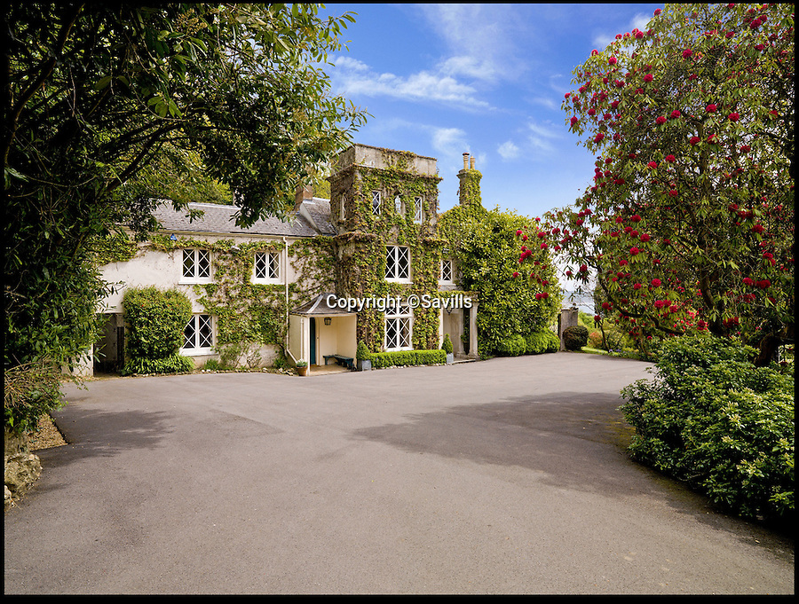 BNPS.co.uk (01202) 558833<br /> Picture: Savills/BNPS<br /> <br /> ****Please use full byline****<br /> <br /> The seaside house immortalised in the classic film the French Lieutenant's Woman has been sold to the former Mayor of London, Sir Roger Gifford.<br /> <br /> Ware House boasts some of the most stunning views in Britain which include 26 miles of coastline with not a single property in sight.<br /> <br /> The six bed Regency house in Lyme Regis, Dorset, featured prominently in the 1981 period movie as the home of Meryl Streep's character.<br /> <br /> It was put on the market last year by owner Minnie Churchill, the granddaughter-in-law of former Prime Minister Winston Churchill.