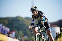Nikki Harris (GBR/Telenet-Fidea)<br /> <br /> Elite Women's Race<br /> bpost bank trofee<br /> GP Mario De Clercq Ronse 2015