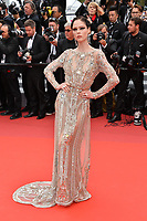 "CANNES, FRANCE. May 21, 2019: Coco Rocha at the gala premiere for ""Once Upon a Time in Hollywood"" at the Festival de Cannes.<br /> Picture: Paul Smith / Featureflash"