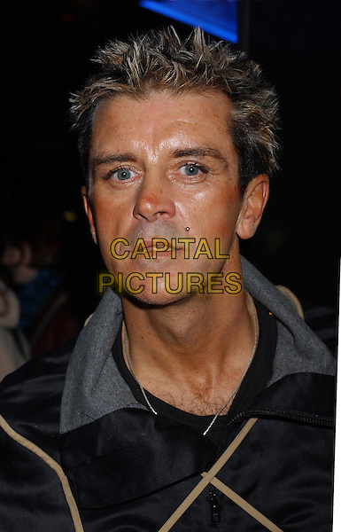 STEVE STRANGE.Uk Premiere Of Party Monster, The Curzon, Soho, London, UK.14th October 2003.headshot, portrait.www.capitalpictures.com.sales@capitalpictures.com.Supplied By Capital PIctures