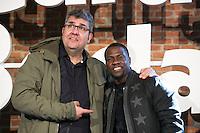 "Florentino Fernandez and Kevin Hart attends the ""The Wedding Ringer"" Presentation at Matadero, Madrid,  Spain. February 05, 2015.(ALTERPHOTOS/)Carlos Dafonte) /NORTEphoto.com"