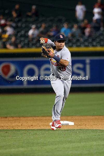 Ruben Tejada - 2016 St. Louis Cardinals (Bill Mitchell)