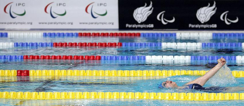 Photo: Paul Thomas..VISA Paralympic World Cup 2007. Swimming. 12/05/2007...PWC Swimming.