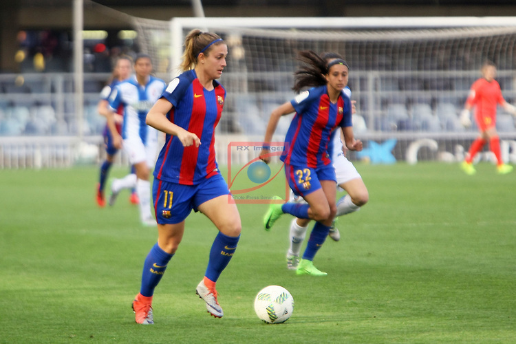 Spanish Women's Football League Iberdrola 2016/17 - Game: 21.<br /> FC Barcelona vs RCD Espanyol: 5-0.<br /> Alexia Putellas.
