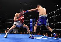 ONTARIO, CA - DECEMBER 21: Hugo Centeno Jr. v Juan Macias Montiel on the Fox Sports PBC Fight Night at Toyota Arena on December 21, 2019 in Ontario, California. (Photo by Frank Micelotta/Fox Sports/PictureGroup)