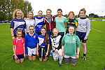 Pictured at the Tralee Rugby Club fun day on Saturday were Front left to right, Molly O'Keeffe, Maeve Moloney, Sorcha  Ringland, Leanna Donnelly, Michaela Donnelly.  Back left to right, Ciara  Supple, Elle Kelleher, Viv Ahern, Katie Ahern, Anna Farrell, Caoimhe Glavin, Sinead Kearney