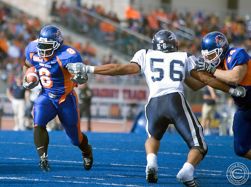 10-27-05-Boise ID. Boise State vs.Nevada  in football at Bronco Stadium. Boise State won 49-14.