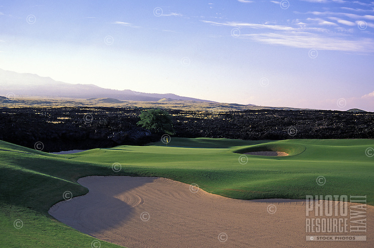 Hualalai Resort golf course. #6. Big Island.