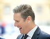 Andrew Marr Show <br /> at the BBC, Broadcasting House, London, Great Britain <br /> 3rd September 2017 <br /> <br /> <br /> Sir Keir Starmer, KCB, PC, QC Labour Member of Parliament for Holborn and St Pancras and Shadow Secretary of State for Exiting the European Union being interviewed outside the BBC.<br /> <br /> Photograph by Elliott Franks <br /> Image licensed to Elliott Franks Photography Services