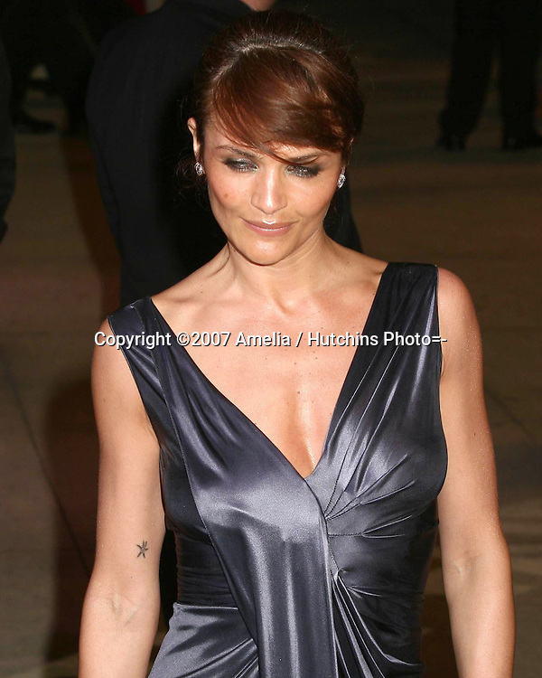 Helena Christensen.79th Academy Awards, 2007.Kodak Theater.Los Angeles, CA.February 25, 2007.©2007 Amelia / Hutchins Photo....                 Helena Christensen.2007 Vanity Fair Oscar Party.Mortons Resturant.W Hollywood, CA.February 25, 2007.©2007 Amelia / Hutchins Photo....