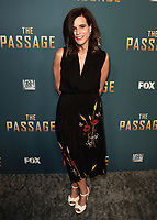 "SANTA MONICA - JANUARY 10:  Executive Producer Liz Heldens at the red carpet premiere party for FOX's ""The Passage"" at The Broad Stage on January 10, 2019, in Santa Monica, California. (Photo by Scott Kirkland/Fox/PictureGroup)"