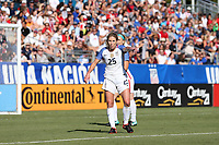Cary, NC - Sunday October 22, 2017: McCall Zerboni during an International friendly match between the Women's National teams of the United States (USA) and South Korea (KOR) at Sahlen's Stadium at WakeMed Soccer Park. The U.S. won the game 6-0.