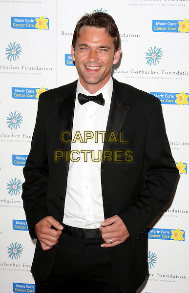 DOUGRAY SCOTT .Raisa Gorbachev Foundation Gala Dinner at Stud House, Hampton Court, London, England, UK, June 6th 2009..half length black suit white shirt bow tie tux tuxedo .CAP/ROS.©Steve Ross/Capital Pictures