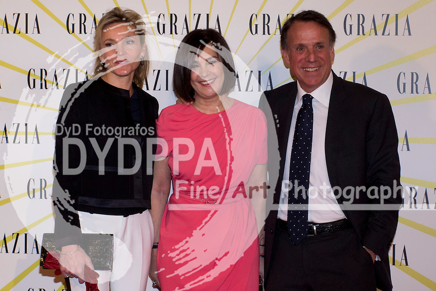 12.02.2013. Circo Price. Madrid. Spain. Celebrities attend the Party for the new magazine 'Grazia'. In the image: Charo Izquierdo. (C) Ivan L. Naughty / DyD Fotografos//