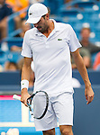 Julien Benneteau (FRA) fell to David Ferrer (ESP) by 63 62 at the Western & Southern Open in Mason, OH on August 16, 2014.