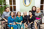 Christmas Party : Elaine Henderson, Patricia O'Neill, Christine Heaphy, Zoe Hughes, Miriam O'Keeffe, Brid Walsh & Sinead Barry attendin their family Christmas party at the listowel Arms Hotel on Saturday night last.