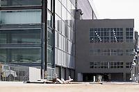 CURITIBA, PR, 21.05.2014 -  VISITA FIFA / ARENA DA BAIXADA / CURITIBA - Vista da Arena da Baixada na manhã desta quarta-feira (21) duranre a visita do secretário-geral da Fifa, Jérôme Valcke, a última vistoria antes de a entidade máxima do futebol assumir a propriedade temporária da Arena. Estádio que receberá 4 jogos pela copa do Mundo FIFA 2014.  (Foto: Paulo Lisboa / Brazil Photo Press)