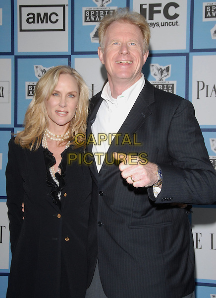 ED BEGLEY JR. & GUEST.attends The 2008 Independent Spirit Awards held in Santa Monica, California USA, February 23 2008                                                                     .half length.CAP/DVS.??Debbie VanStory/Capital Pictures