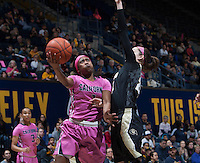 Berkeley, CA - February 12th, 2017:  CAL Women's Basketball's 59-64 loss to Colorado Buffaloes at Haas Pavilion.