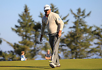 Greame McDowell (NIR) on the 11th green during Round 2 of the 2015 Alfred Dunhill Links Championship at Kingsbarns in Scotland on 2/10/15.<br /> Picture: Thos Caffrey | Golffile