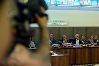 Roma, 17 Luglio 2018<br /> La corte con il giudice Vincenzo Capozza<br /> Processo Cucchi Bis contro 5 Carabinieri accusati della morte di Stefano Cucchi