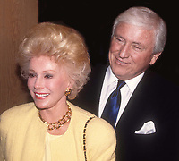 Eva Gabor and Merv Griffin 1989<br />