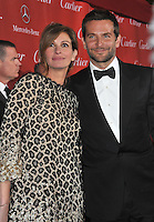 Julia Roberts &amp; Bradley Cooper at the 2014 Palm Springs International Film Festival Awards gala at the Palm Springs Convention Centre.<br /> January 4, 2014  Palm Springs, CA<br /> Picture: Paul Smith / Featureflash
