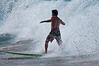 Europe/Espagne/Pays Basque/Guipuscoa/Pays Basque/Zarautz: Surfeur