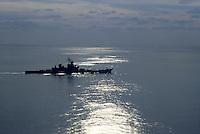 - US Navy, the Missouri battleship in navigation in the Mediterranean sea<br /> <br /> .- US Navy, la corazzata Missouri in navigazione nel mar Mediterraneo