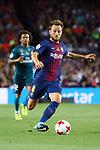 Supercopa de Espa&ntilde;a - Ida.<br /> FC Barcelona vs R. Madrid: 1-3.<br /> Ivan Rakitic.