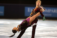 November 19, 2005; Paris, France; Figure skating stars ISABELLE DELOBEL and OLIVIER SCHOENFELDER of France skate to silver in ice dancing at Trophee Eric Bompard, ISU Paris Grand Prix competition.  They are one of the favorites in ice dancing for medals leading up to Torino 2006 Olympics.<br />Mandatory Credit: Tom Theobald/<br />Copyright 2005 Tom Theobald