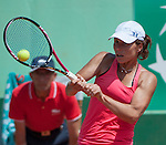 Varvara Lepchenko (USA) wins at Roland Garros in Paris, France on June 2, 2012