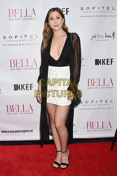 LOS ANGELES, CA - JUNE 23:  Actress Elizabeth Small attends the BELLA Los Angeles Summer Issue Cover Launch Party at Sofitel Los Angeles At Beverly Hills on June 23, 2017 in Los Angeles, California.<br /> CAP/ROT/TM<br /> &copy;TM/ROT/Capital Pictures