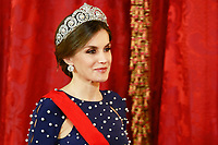 2018 04 16 Portugal President  Kings Spain Royal Palace Madrid