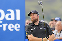 Shane Lowry (IRL) tees off the 1st tee during Saturday's Round 3 of the 2018 Dubai Duty Free Irish Open, held at Ballyliffin Golf Club, Ireland. 7th July 2018.<br /> Picture: Eoin Clarke | Golffile<br /> <br /> <br /> All photos usage must carry mandatory copyright credit (&copy; Golffile | Eoin Clarke)