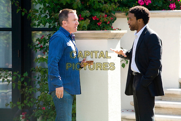 TIM ALLEN & CHIWETEL EJIOFOR.in Redbelt.*Filmstill - Editorial Use Only*.CAP/FB.Supplied by Capital Pictures.