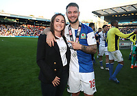 Blackburn Rovers' Blackburn Rovers' Adam Armstrong <br /> <br /> Photographer Rachel Holborn/CameraSport<br /> <br /> The EFL Sky Bet League One - Blackburn Rovers v Oxford United - Saturday 5th May 2018 - Ewood Park - Blackburn<br /> <br /> World Copyright &copy; 2018 CameraSport. All rights reserved. 43 Linden Ave. Countesthorpe. Leicester. England. LE8 5PG - Tel: +44 (0) 116 277 4147 - admin@camerasport.com - www.camerasport.com