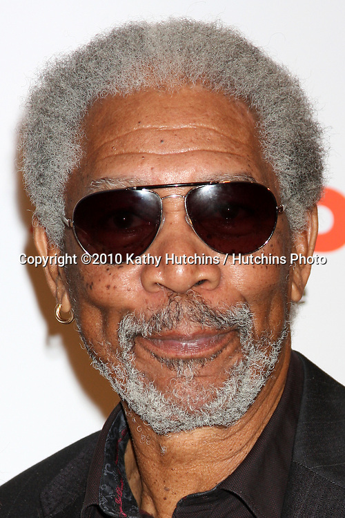 Morgan Freeman.arriving at the Ninth Annual AARP the Magazine`s Movies for Grownups Awards Gala .Beverly Wilshire Hotel.Beverly Hills, CA.February 16, 2010.©2010 Kathy Hutchins / Hutchins Photo....